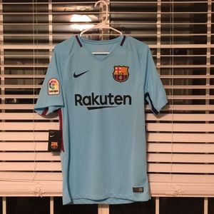 BRAND NEW/WITH TAGS Barcelona Jersey (small)